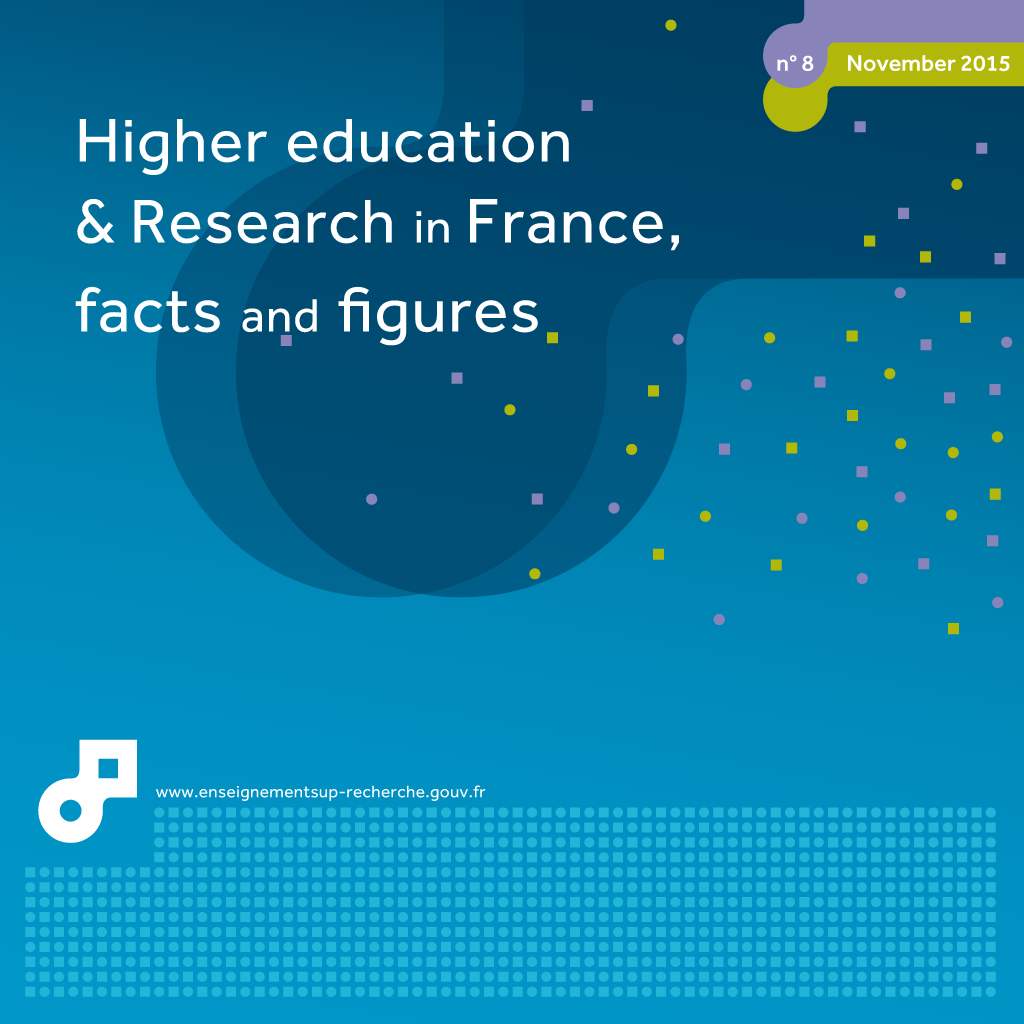 Cover of higher education & research in France, facts and figures